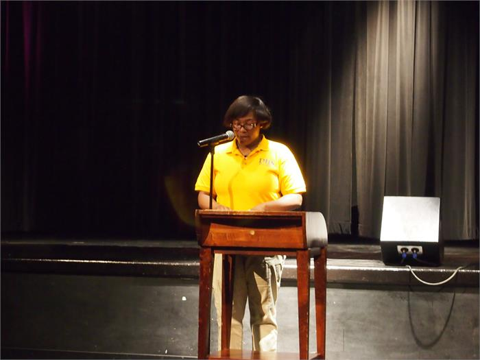 Latoya Carthon, Master of Ceremonies